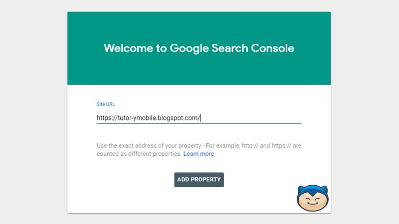 Cara Membuat Google Search Console Step 3