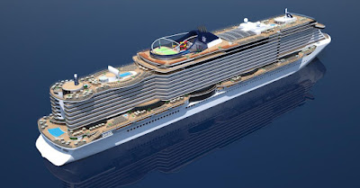 MSC Cruises New MSC Seaside Class Ship Currently Under Construction at Italy's Fincantieri Will Sail From Miami Starting December 2017