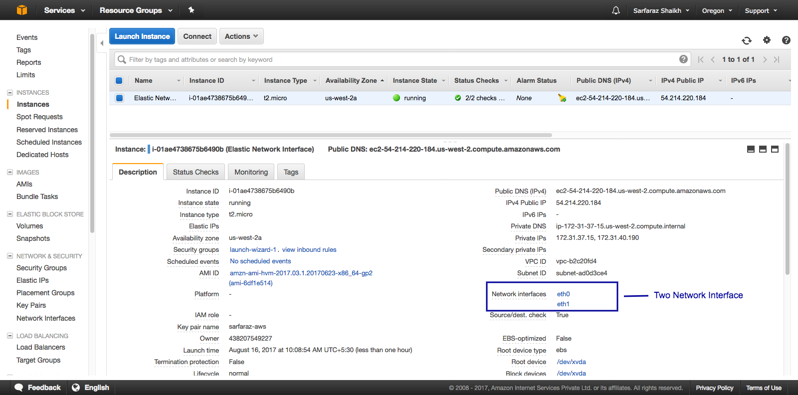 How to create a Elastic Network Interface in AWS - Techs2resolve