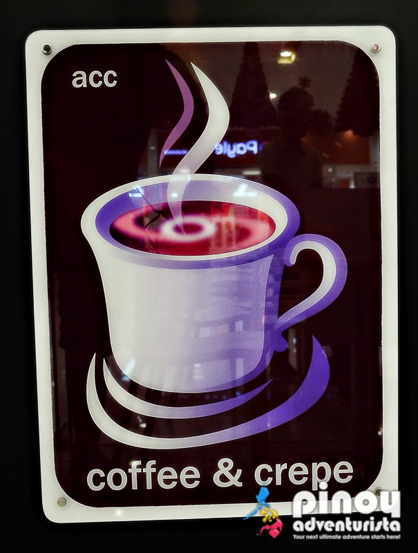 Where to eat in Roxas City ACC Coffee and Crepes