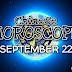 Chinese Horoscope September 22