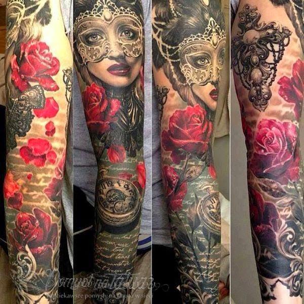 Zdobienie Ciała Tatuaż Rodzaje