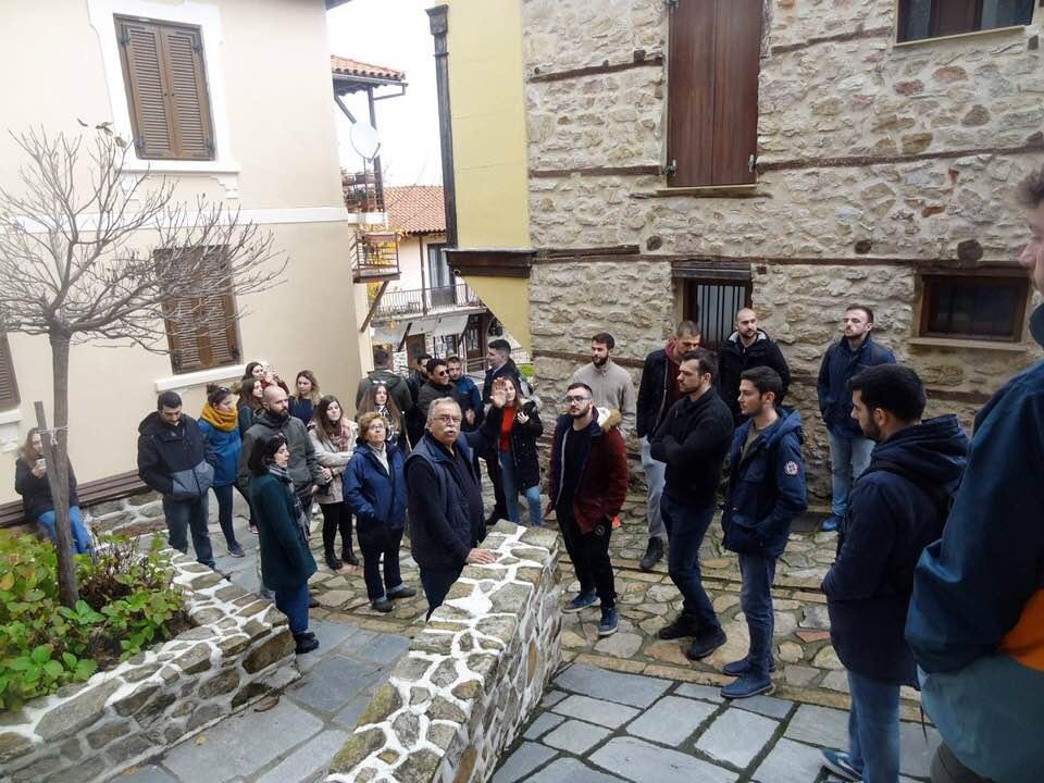 Εκπαιδευτική εκδρομή του Τομέα Αγροτικής Οικονομίας  της Γεωπονικής σχολής Θεσσαλονίκης στην Αρναία