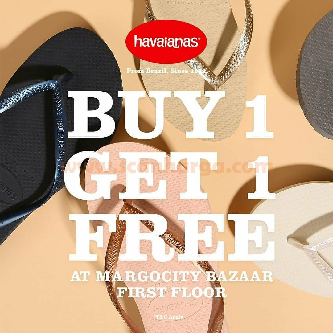 Promo Havaianas Special Buy 1 Get 1 Free On Selected Items