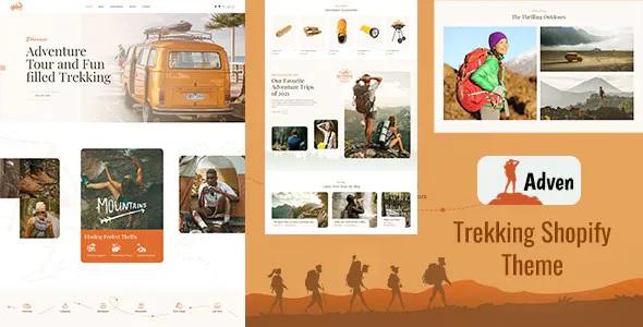 Best Hiking, Camping & Trekking Shopify Theme