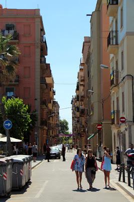 Viertel Barceloneta in Barcelona