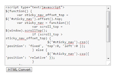 Cara Memasukan Kode HTML dalam Postingan Blog