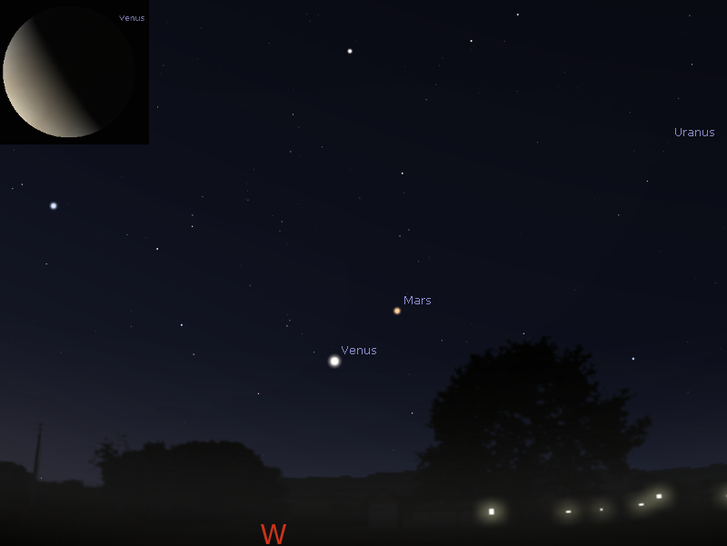 Astroblog The Sky This Week Thursday January To Thursday - Night sky map now