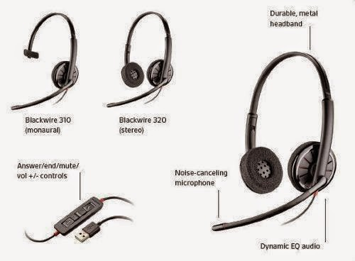 Headsets Headphones For Unified Communication Voip Telephony