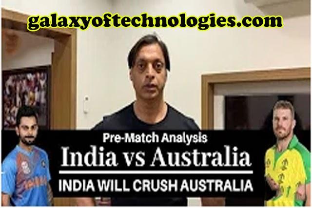 India Vs Austrailia World Cup Match | India Beat Australia | Shoaib Akhtar Pre Match Analysis 9 May 2019