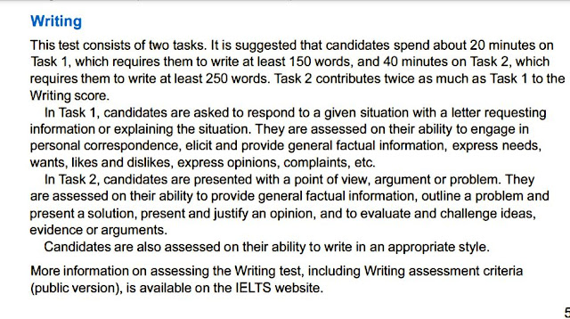 IELTS  General writing Task 1 and Task 2 tips نصائح هامة