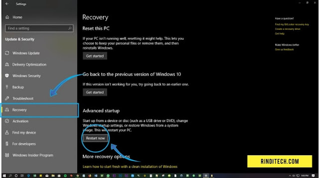 Cara Masuk BIOS Tanpa Restart Komputer