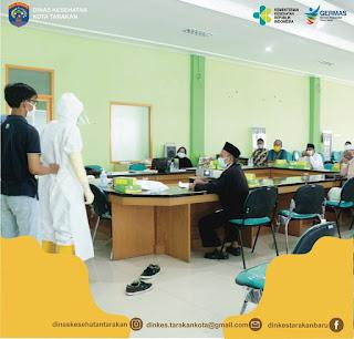 Pelaksanaan Pelatihan Fardhu Kifayah Jenazah Covid-19 di RSU Kota Tarakan - Tarakan Info