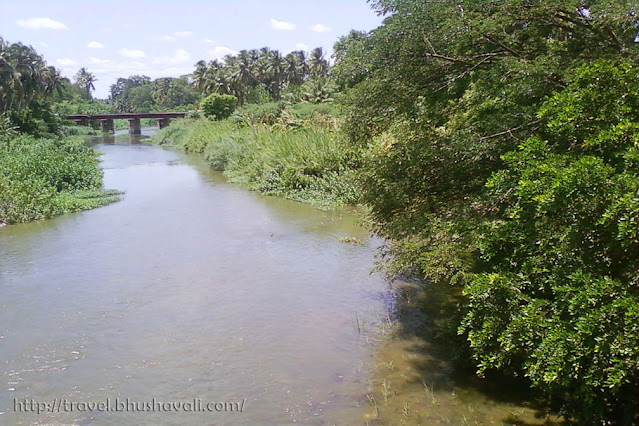 Nangalaaram Channel of Uyyakondan river of Cauvey