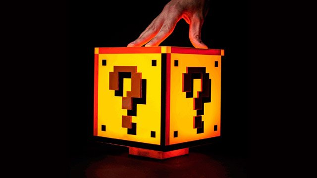 Super Mario Bros -Inspired Question Block Lamp | BEAUTIFUL MONEY