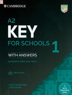 Cambridge A2 KEY FOR SCHOOLS 1 (2020)  audio