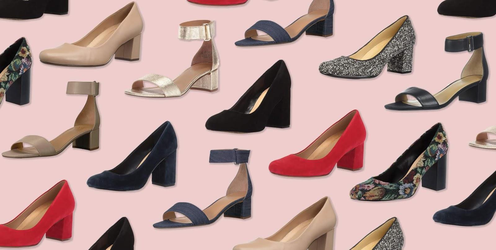 احذية كعب عالي للبنات