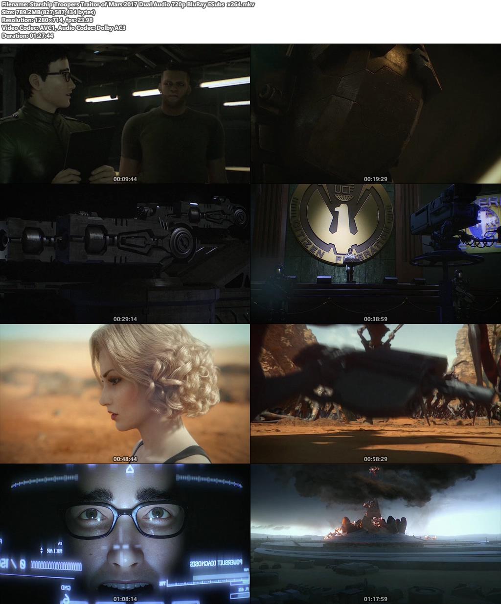 Starship Troopers Traitor Of Mars 2017 Dual Audio 720p