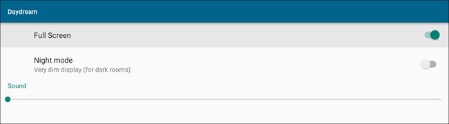 """إعدادات YoWindow لشاشة توقف """"Daydream""""."""