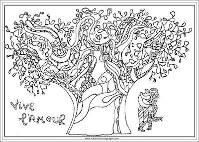 vive l'amour adults coloring pages of niki de saint phalle