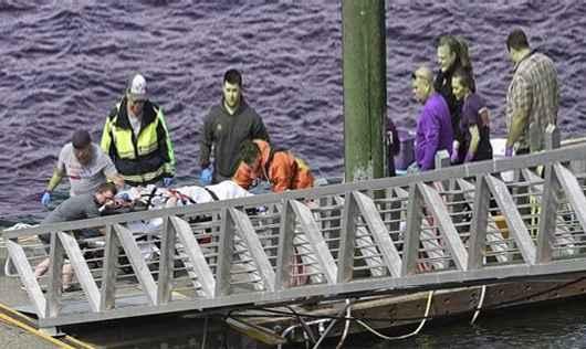 اصطدمت طائرتان سياحيتان تحملان عددا محدودا من الركاب، في الجو، فوق مدينة كيتشيكان بولاية آلاسكا، شمال غرب الولايات المتحدة.