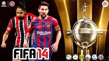 FIFA 14 MOD FIFA 21 OFFLINE BRASILEIRÃO| EUROPEUS| LIBERTADORES| APK+DATA+OBB