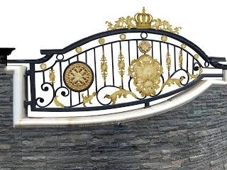 gambar pagar besi tempa gambar pagar besi tempa klasik