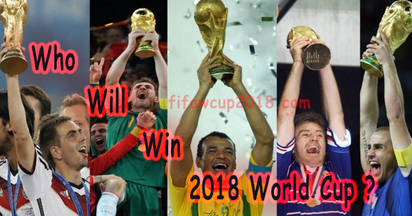 who will world cup 2018