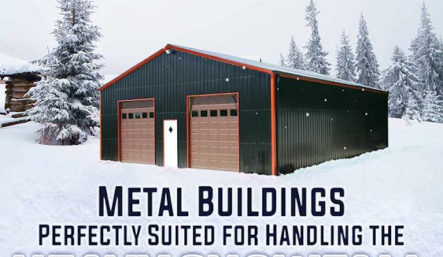 Garage Buildings #infographic