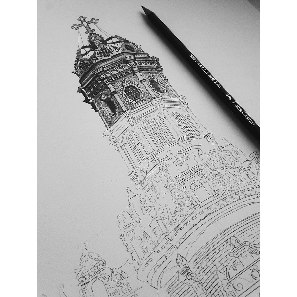06-Znamenskaya-Church-Dubrovitsy-Russia-WIP-Elizabeth-Mishanina-Architecture-Immaculate-Drawing-Technique-www-designstack-co