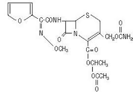Cefuroxime axetil is a broad spectrum 13-1actam antibiotic