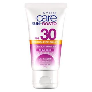 resenha protetor solar fps 30 avon care + rosto