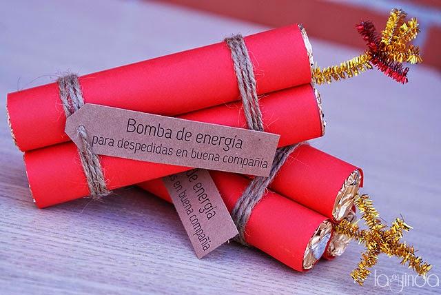 regalo original bomba chocolate despedida soltera