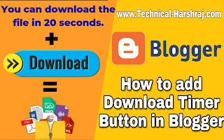 How To Add Download Timer in Blogger Post?