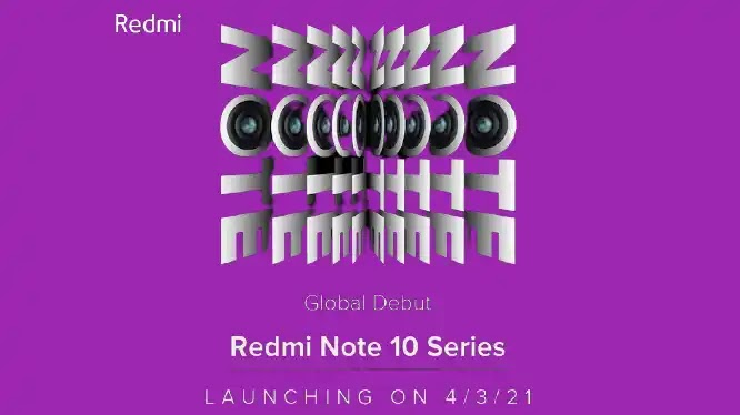 Redmi Note 10 Series with 108MP Camera feature