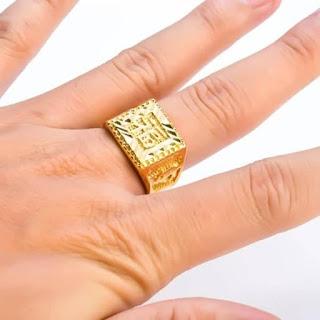 Nhẫn vàng nam 24K 5 chỉ