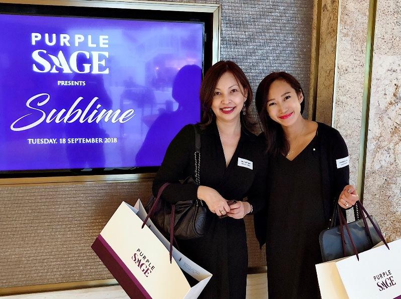 purple sage media event luxury haven food blogger