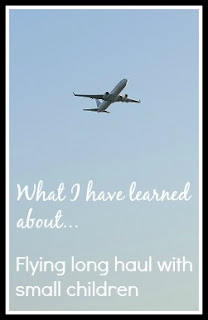 Flying long haul with small children