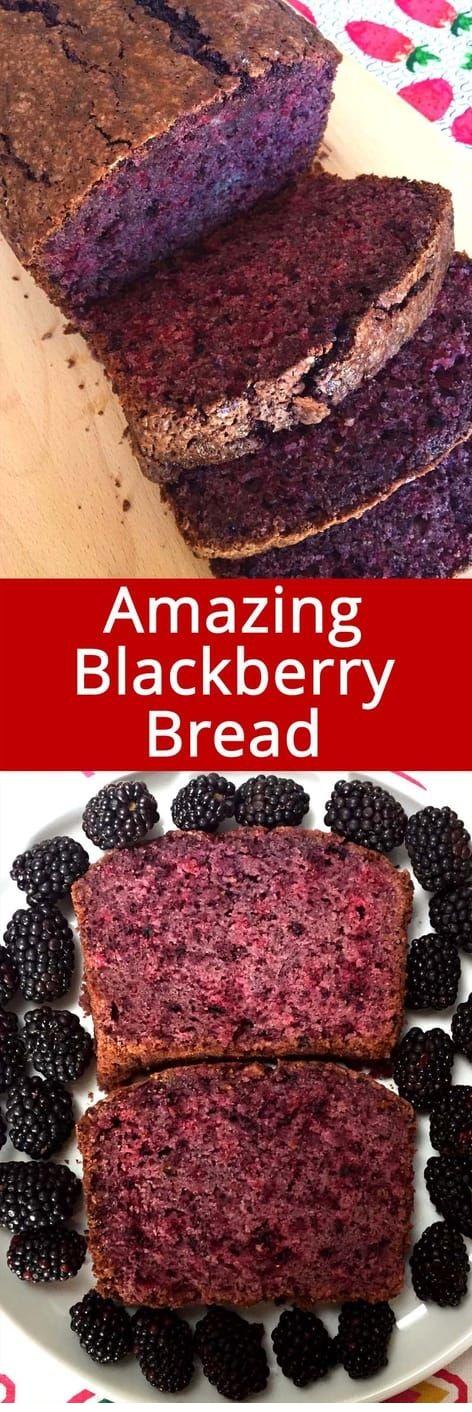 Easy Blackberry Bread Recipe