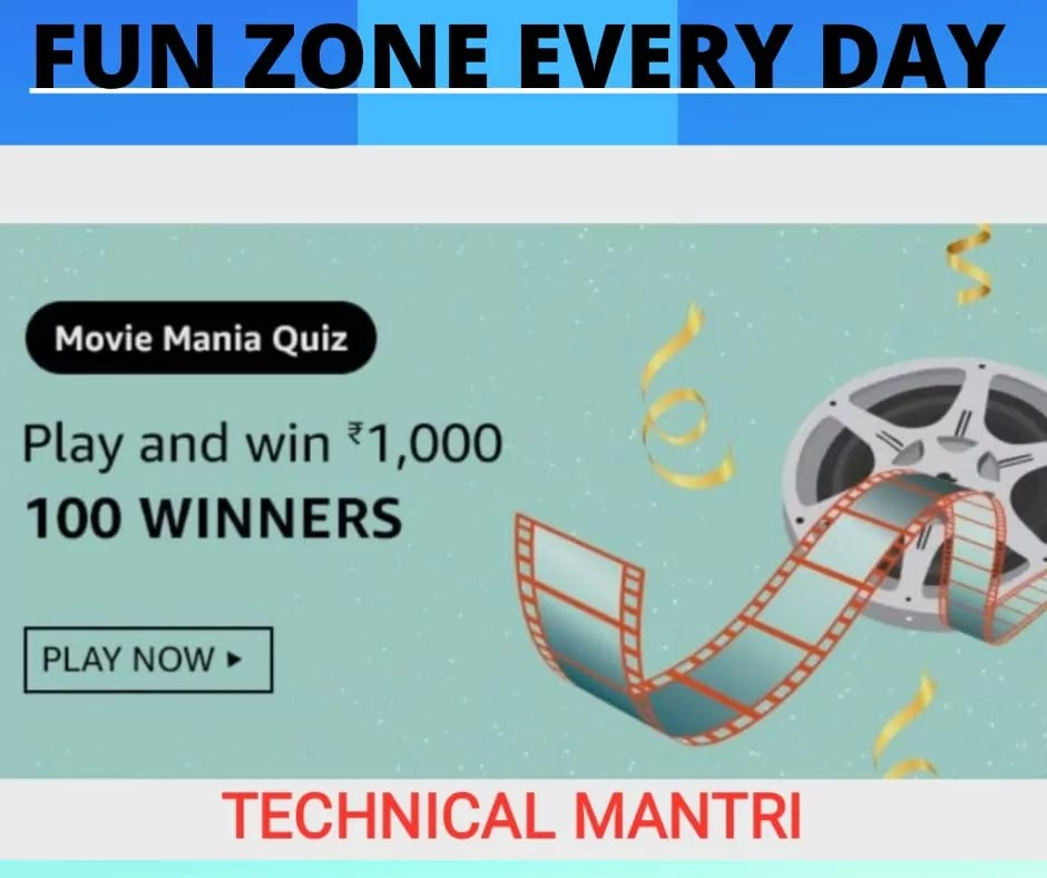 (Solved) Movie Mania Quiz Answer And Win 1000