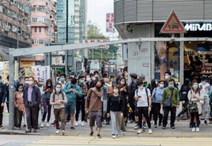 Lagi, Lebih dari 100 Kasus Orang Terinfeksi Virus Corona di Hong Kong Hari ini