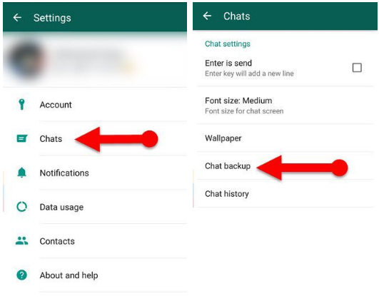 Cara Back Up WhatsApp