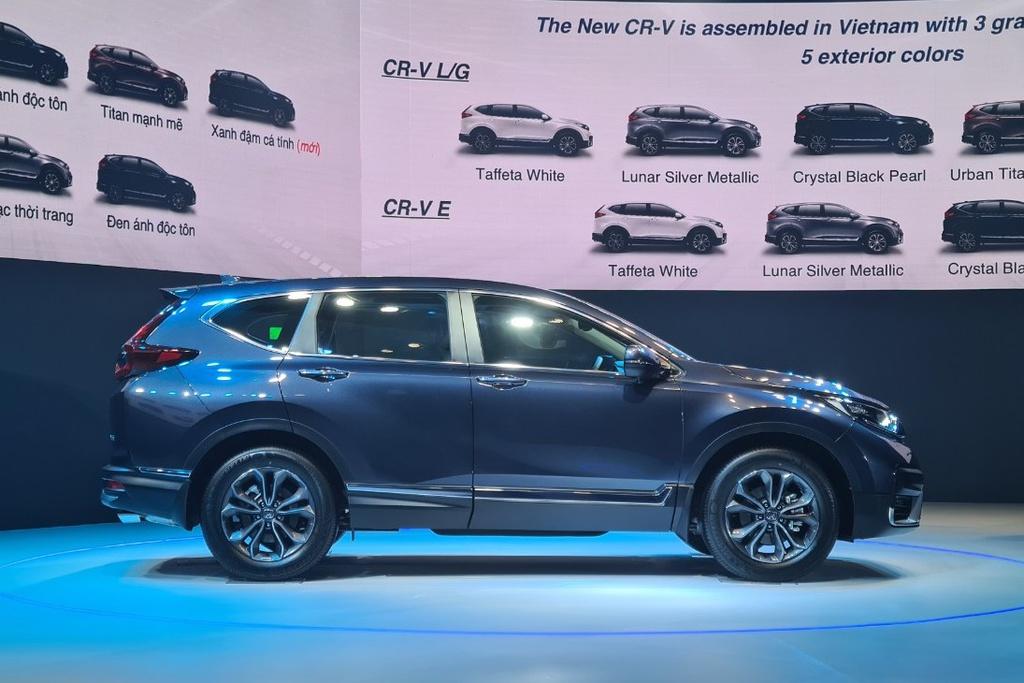 Honda CR-V 2020 ra mắt tại Việt Nam, giá từ 998 triệu đồng