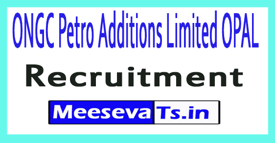 ONGC Petro Additions Limited OPAL Recruitment