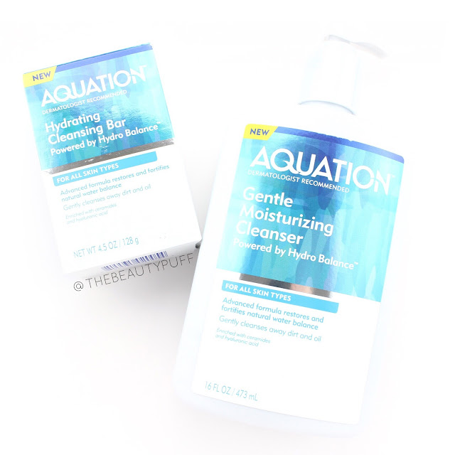 aquation cleansers | the beauty puff
