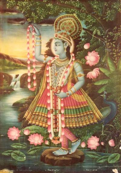 Hindu Goddess yamuna picture