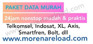 Paket data murah morena reload