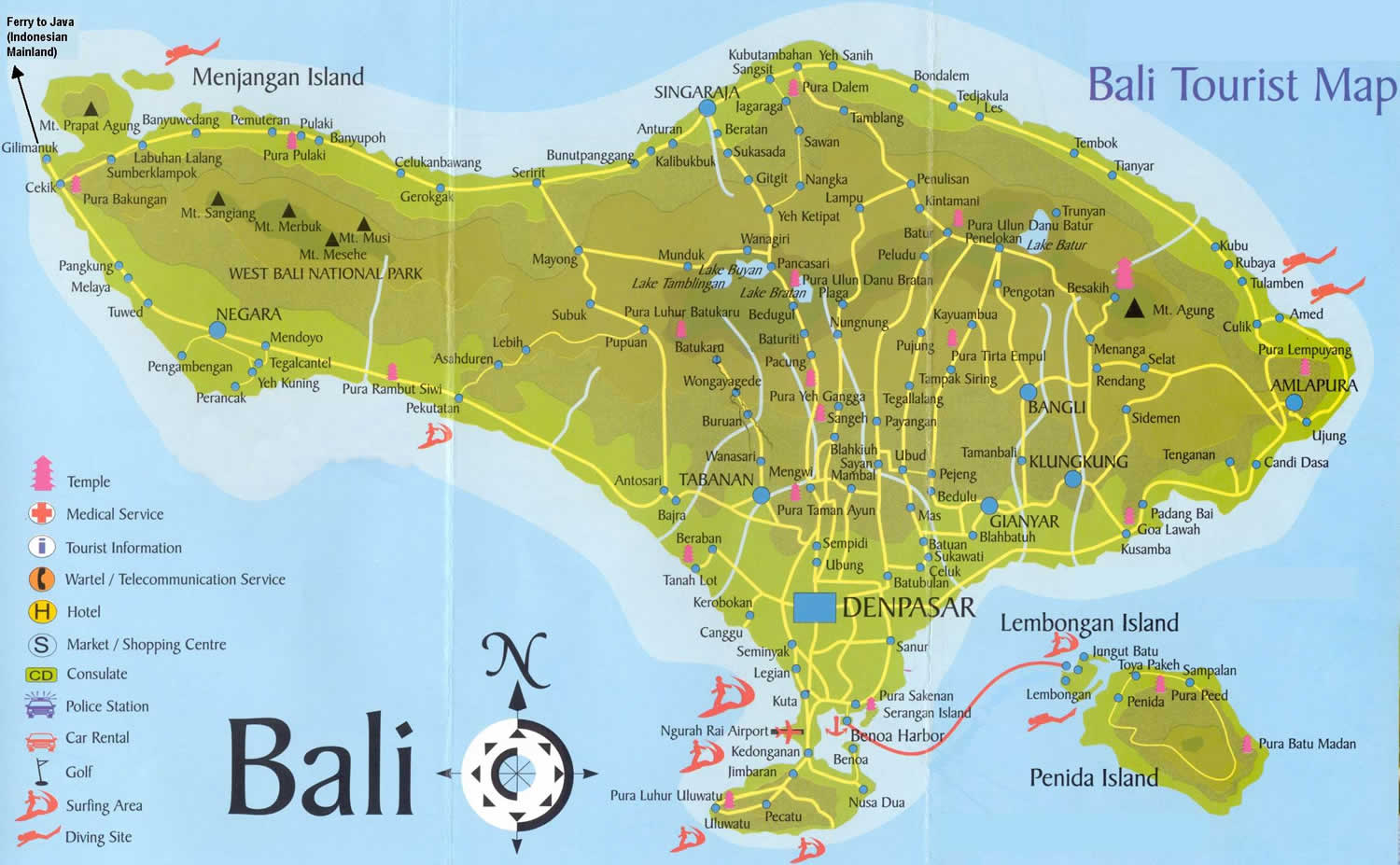 First Time Travellers To Bali
