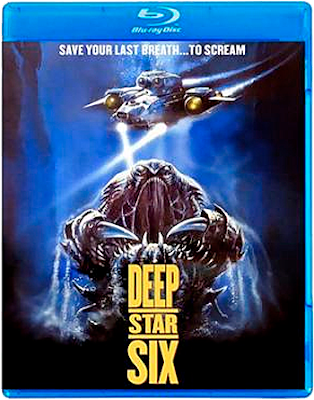 Reverse cover art for Kino Lorber Studio Classics' Special Edition Blu-ray of DEEPSTAR SIX!