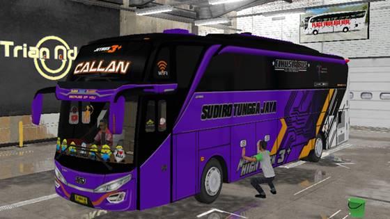 Livery Bussid STJ Callan SHD Original